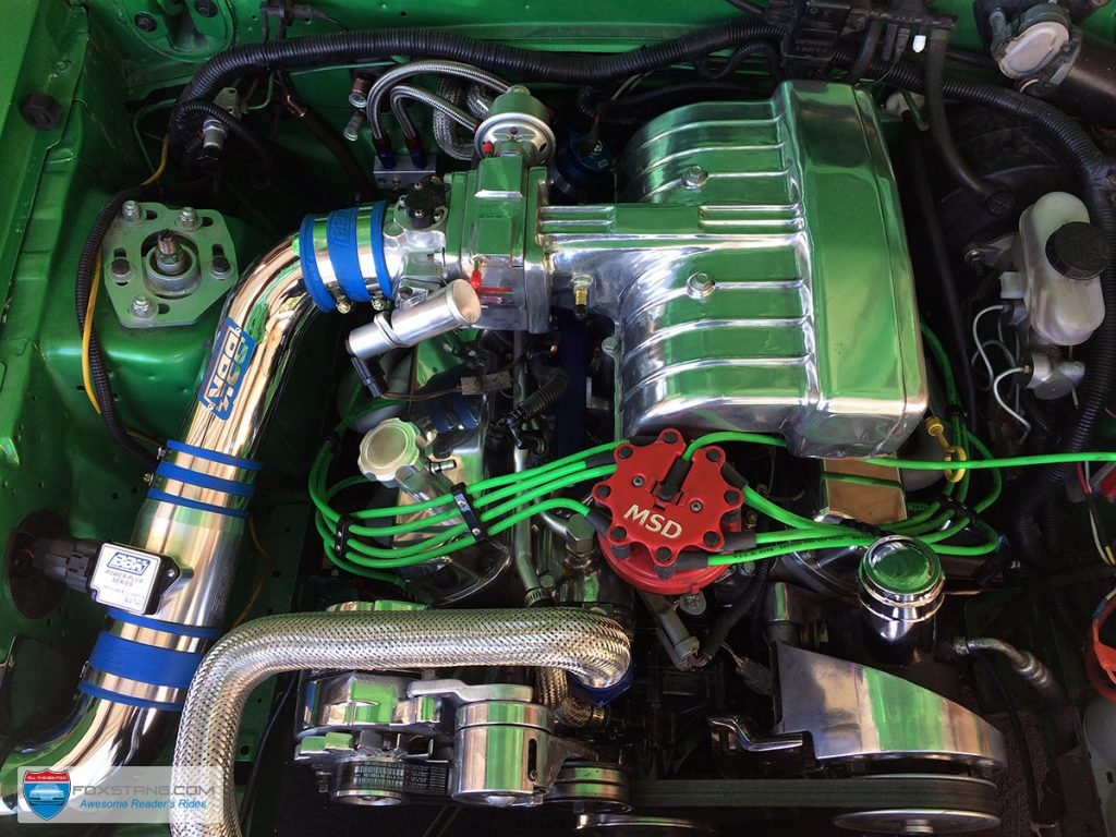 Fox Mustang Engine Bay