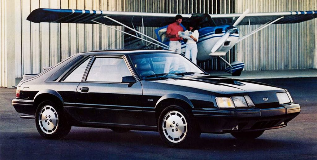 SVO Mustang 1984