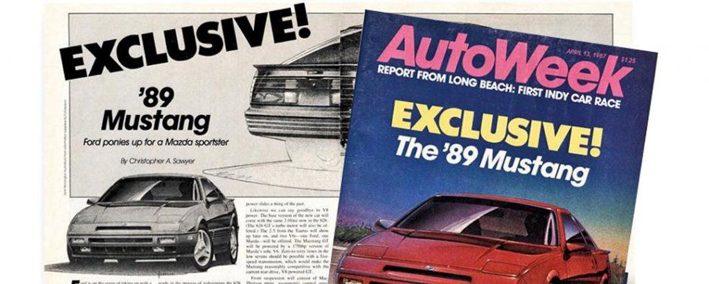 Autoweek article on the FWD Mustang to replace the Foxbody