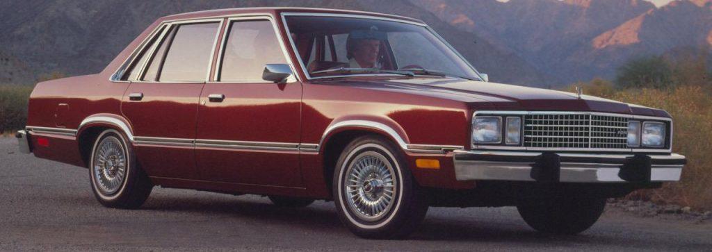 Ford Fairmont - fox platform