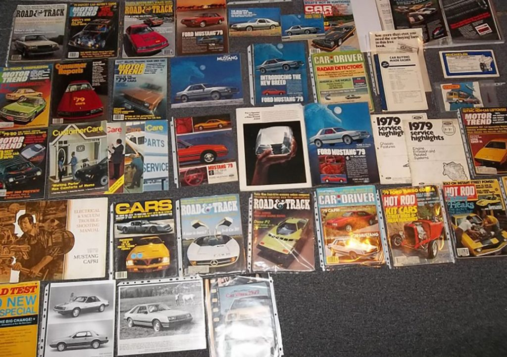 1979 Ford brochures and mags