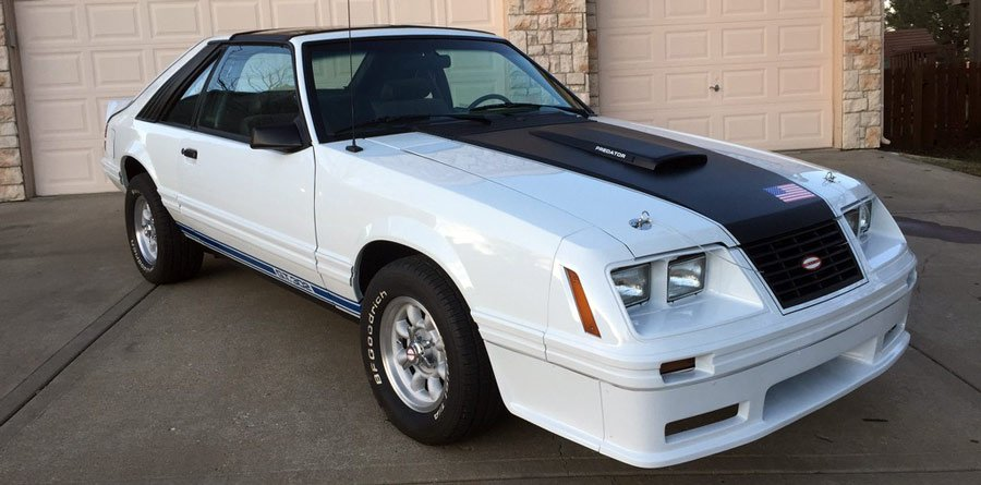 Restored Fox Body Mustang
