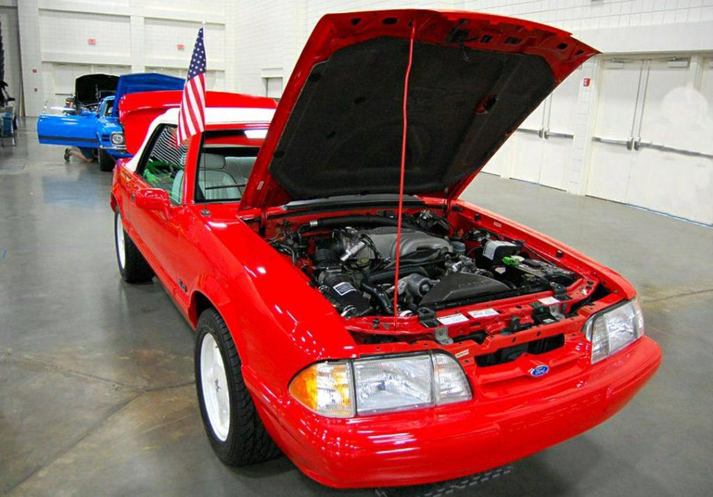 1992 Lx 'vert Mustang
