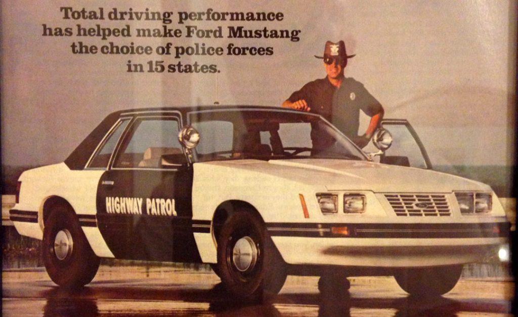 SSP Mustang Ad