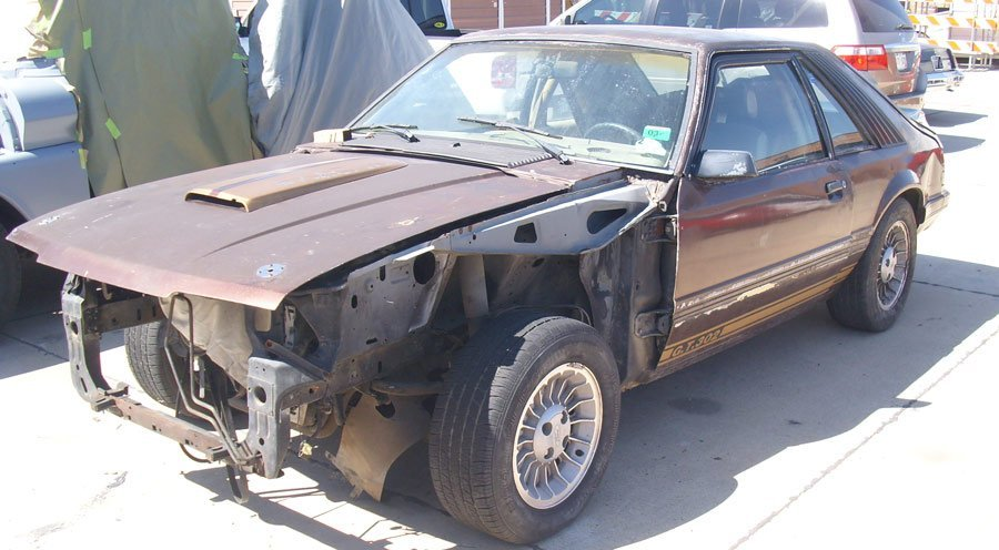 Brown Fox Mustang Resto