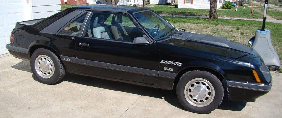 Dominator Fox Mustang Restoration