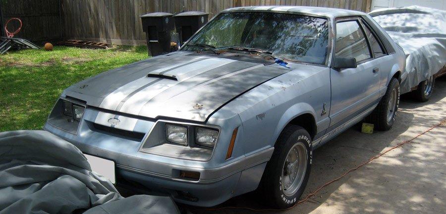 Fox Mustang Predator Restoration Before