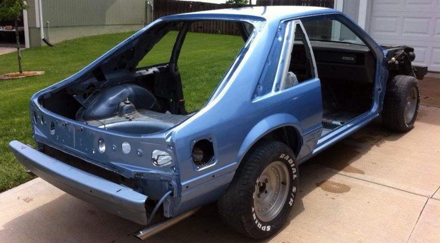 fox Mustang Restoration
