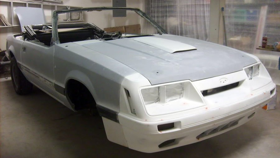 Mustang getting Restored - foxbody