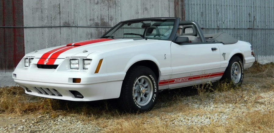 Fully restored Fox Mustang Predator GT