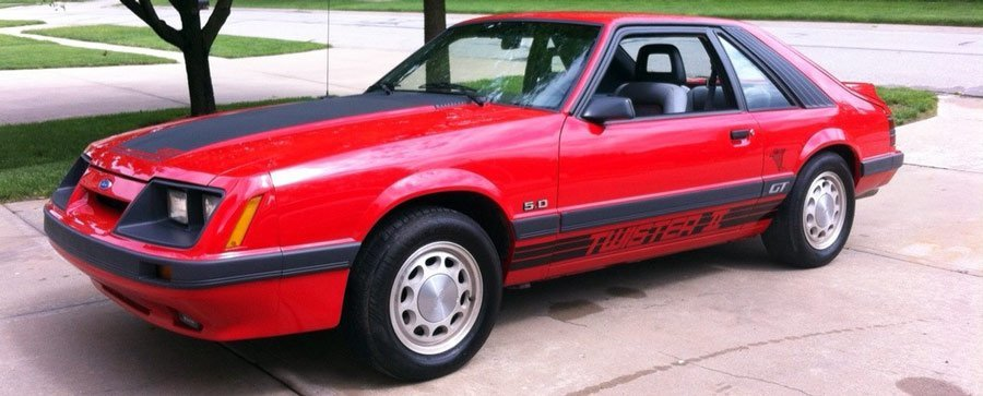 Fox Mustang Twister II Restored