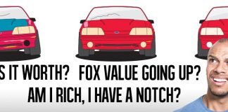 Fox Mustang Value