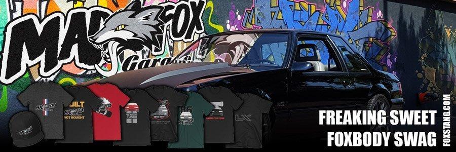 Foxbody t-shirt designs