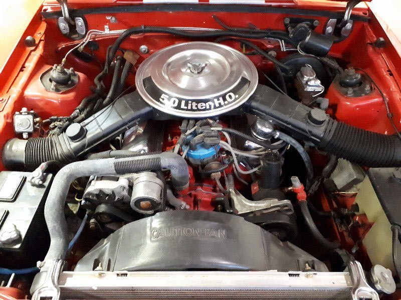 Engine bay - fox mustang