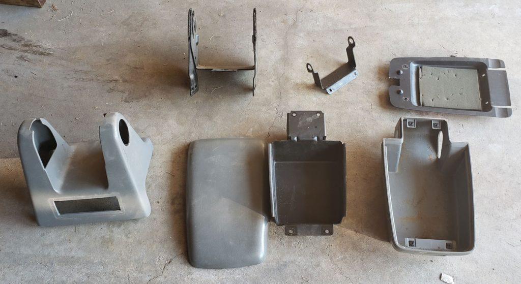 Foxbody Mustang interior restoration - arm pad