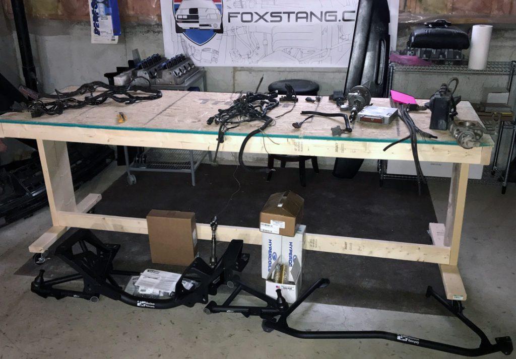 Fox Mustang parts